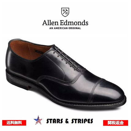 Straight Tip Leather Handmade Oxfords