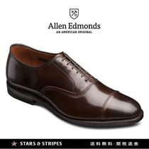 Allen Edmonds Straight Tip Street Style Plain Leather Handmade Oxfords