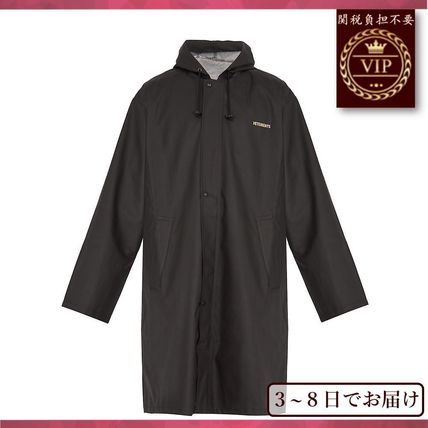 無Oversized cost raincoat hood