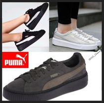 PUMA SUEDE Casual Style Unisex Low-Top Sneakers