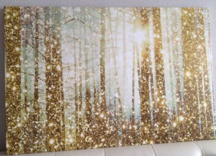 Magical Forest oversized canvas art 114x76cm