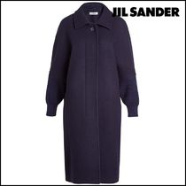 Jil Sander Wool Long Coats