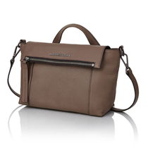 mandarinaduck Street Style 2WAY Plain Leather Office Style Shoulder Bags