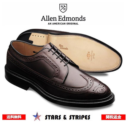 Wing Tip Leather Handmade Oxfords