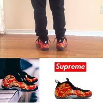 Supreme Flower Patterns Street Style Collaboration Sneakers