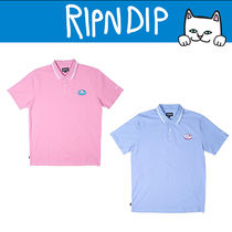 RIPNDIP Short Sleeves Polo Shirts