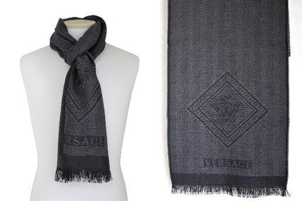 GIANNI first line wool scarf IT01615 100%