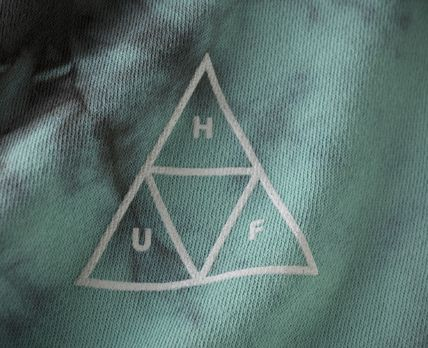 HUF Hoodies Sweat Street Style Tie-dye Long Sleeves Hoodies 3