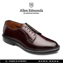 Allen Edmonds Plain Toe Plain Leather Handmade Oxfords