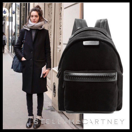 Casual Style Nylon Street Style A4 2WAY Plain Backpacks