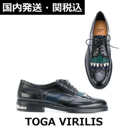 TOGA Wing Tip Tassel Leather Oxfords