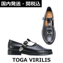 TOGA Plain Toe Leather Oxfords