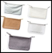 Fondation Louis Vuitton Casual Style Plain Crystal Clear Bags PVC Clothing Clutches