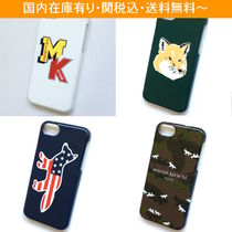 MAISON KITSUNE Unisex Smart Phone Cases