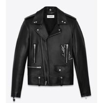 Saint Laurent Street Style Leather Biker Jackets