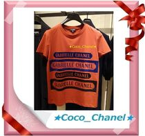 CHANEL ICON Cotton Short Sleeves T-Shirts