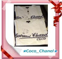 CHANEL ICON Cotton Short Sleeves Logo T-Shirt T-Shirts