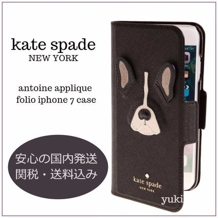 kate spade new york Leather Smart Phone Cases
