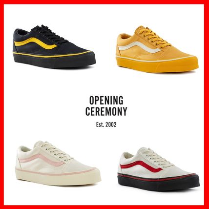 OPENING CEREMONY Stripes Unisex Collaboration Sneakers