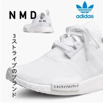adidas NMD Faux Fur Street Style Plain Sneakers