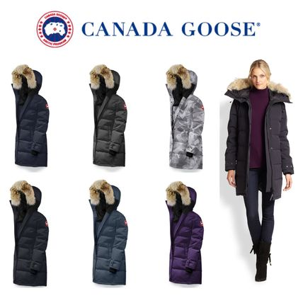 ... CANADA GOOSE Down Jackets Camouflage Plain Long Down Jackets ...