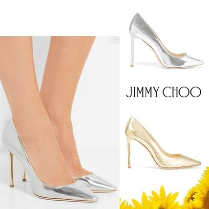 Romy leather pumps
