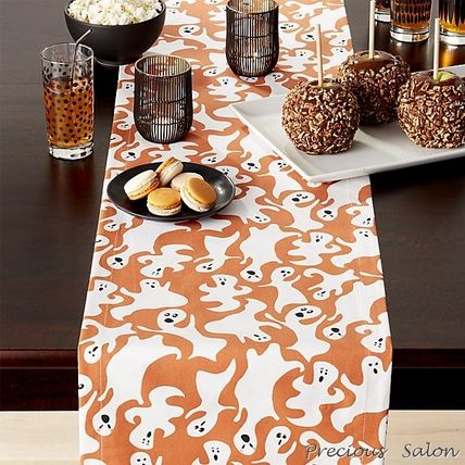 Halloween ghost table runner