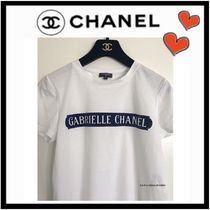 1bdd533eb5cf CHANEL ICON Unisex U-Neck Cotton Medium Short Sleeves T-Shirts
