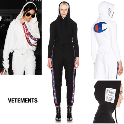 VETEMENTS Casual Style Rib Long Sleeves Plain Cotton Medium