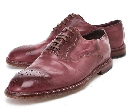 Men's dress shoes Red