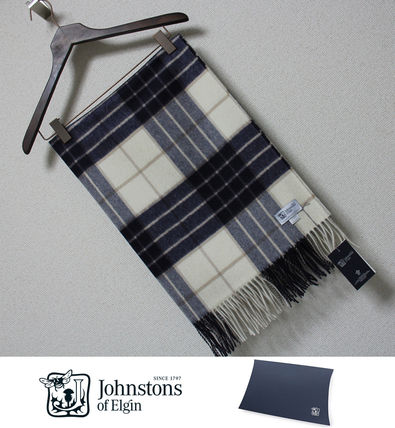 Of Elgin cashmere large scarf Knockmore