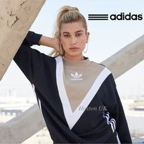 adidas SUPERSTAR Casual Style Wool Street Style Bi-color Long Sleeves Long