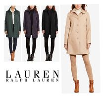 Ralph Lauren Plain Medium Elegant Style Trench Coats