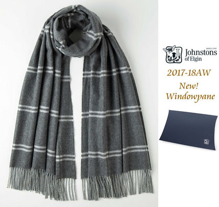 2017-18 AW of Elgin cashmere large scarf