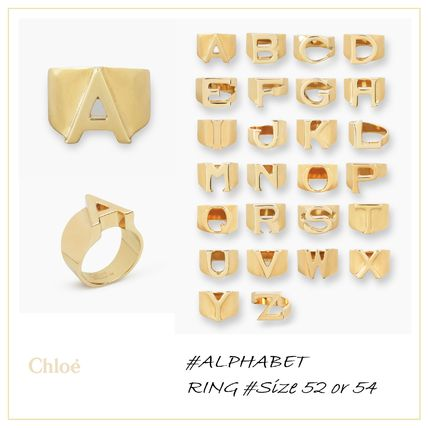 Initial Brass Rings