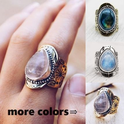 Costume Jewelry Casual Style Silver Brass Rings