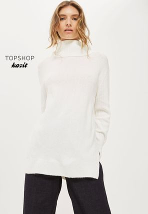 Oversize knitted tunic W