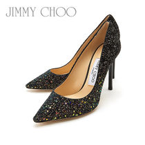 Jimmy Choo Tropical Patterns Leather Pin Heels Party Style