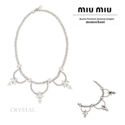 bcab93c04700 MiuMiu 2018-19AW Party Style With Jewels Necklaces   Pendants by ...