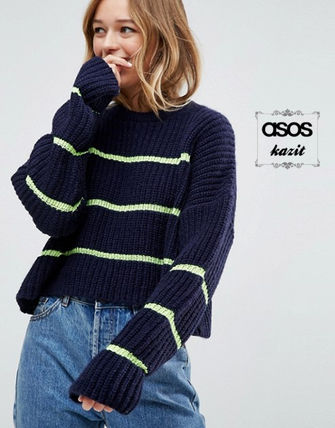 ASOS Casual Style Long Sleeves Oversized Sweaters