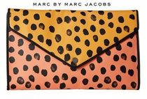 Marc by Marc Jacobs Dots 2WAY Chain Leather Elegant Style Clutches