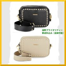 VALENTINO <SALE> VALENTINO  Mia Studded Leather Crossbody Bag