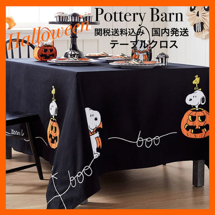 Pottery Barn Halloween Tablecloths & Table Runners