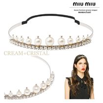 MiuMiu Party Style With Jewels Headbands