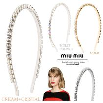 MiuMiu Party Style With Jewels Hair Accessories
