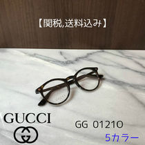 GUCCI Unisex Round Optical Eyewear