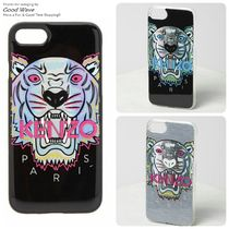 KENZO Unisex Other Animal Patterns Smart Phone Cases