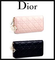 Christian Dior LADY DIOR Long Wallets