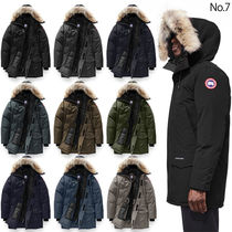 CANADA GOOSE LANGFORD Fur Plain Long Down Jackets