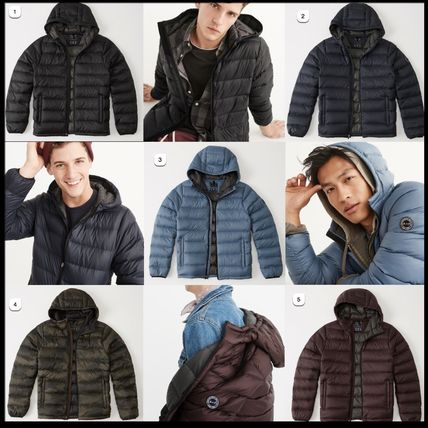 Camouflage Plain Down Jackets
